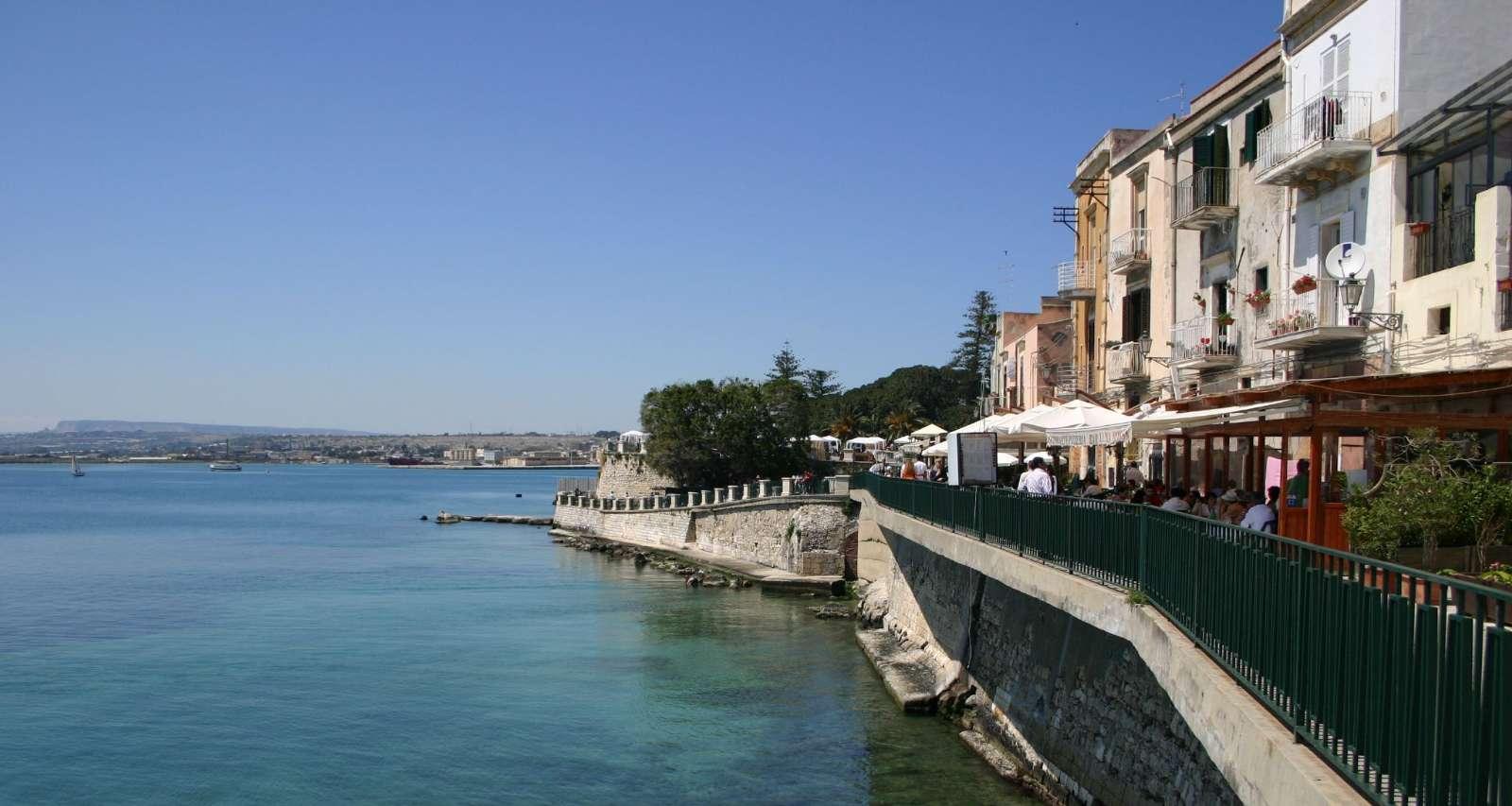 Udsigt fra Ortigia