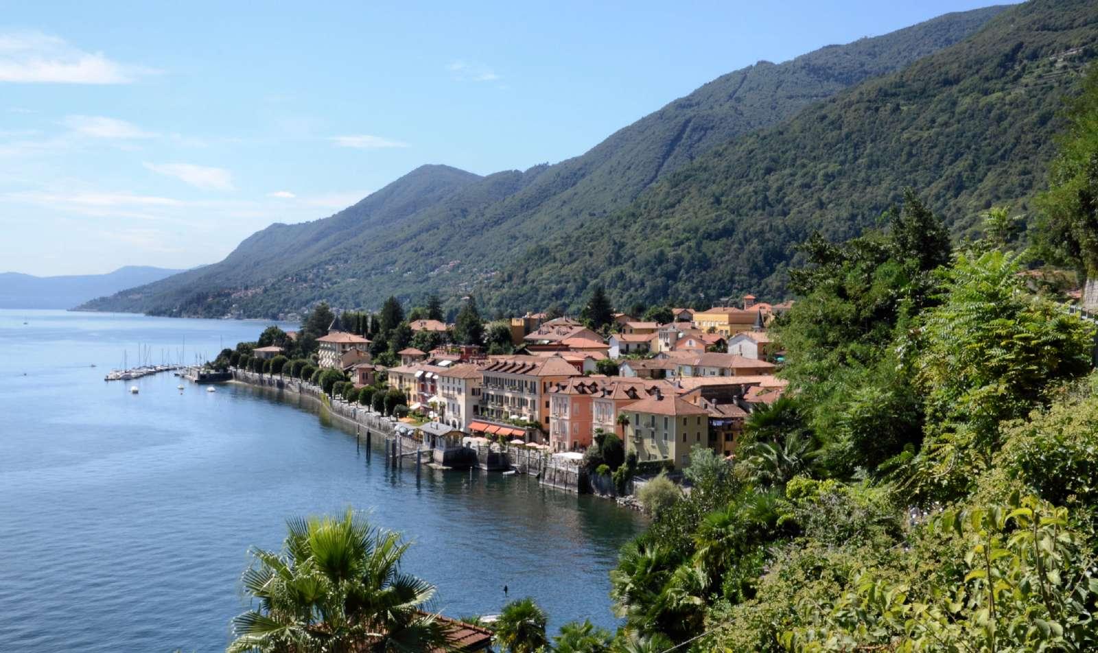 Cannero Riviera vid Maggioresjön