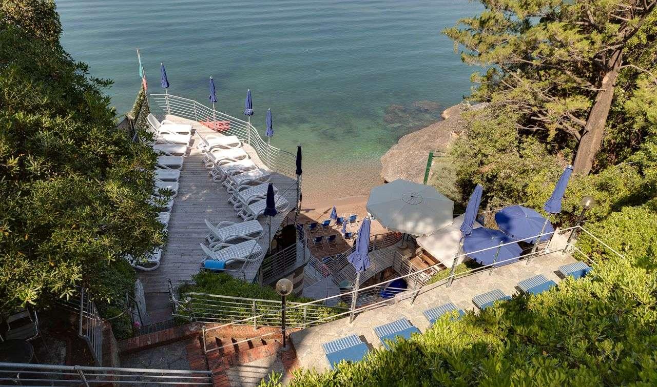 Hotel il Nidos privata strand