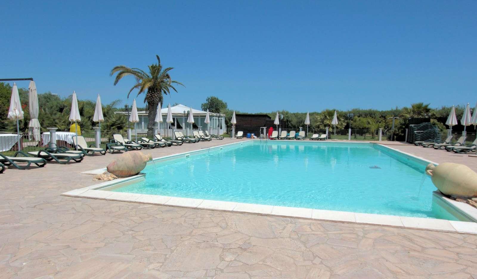 La grande piscine de La Badiula