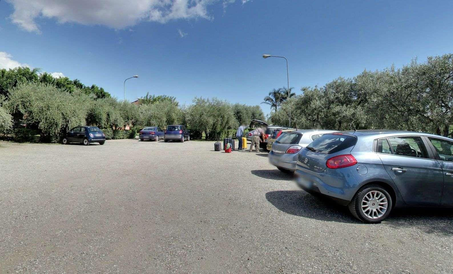 Parkeringsplatsen
