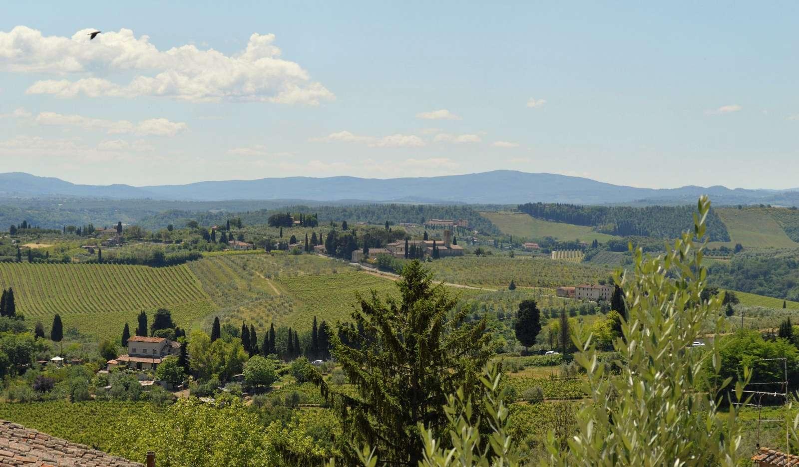 Toscanas vackraste landskap?