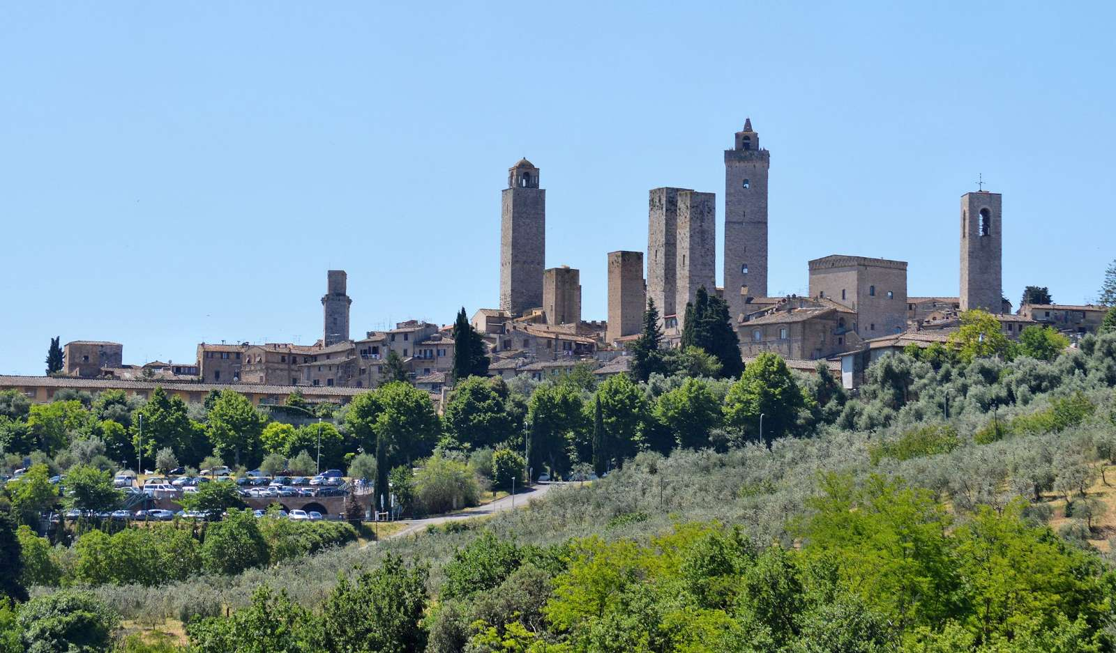 San Gimignano with its beautiful towers