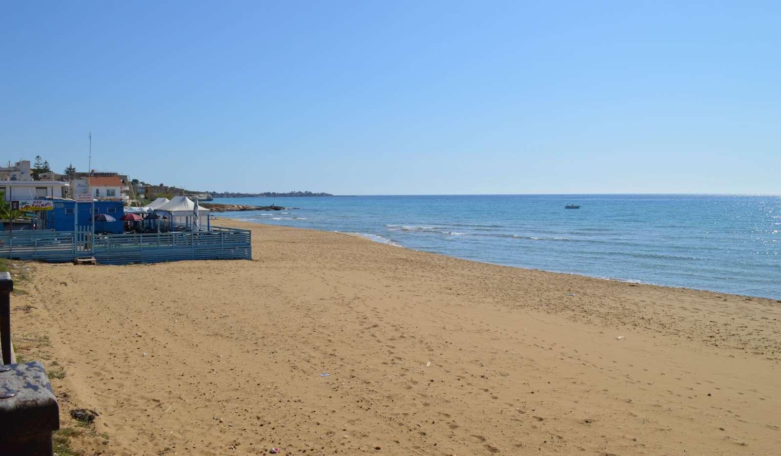 Stranden vid hotellet