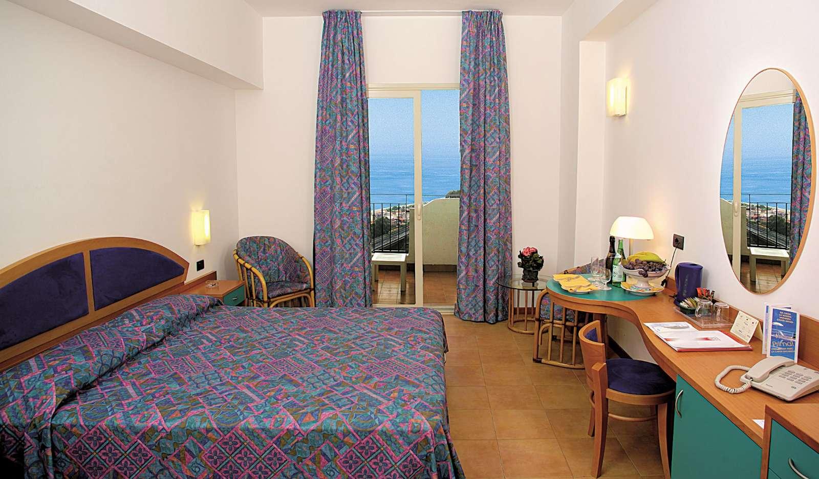 Exempel på rum på Hotel Antares