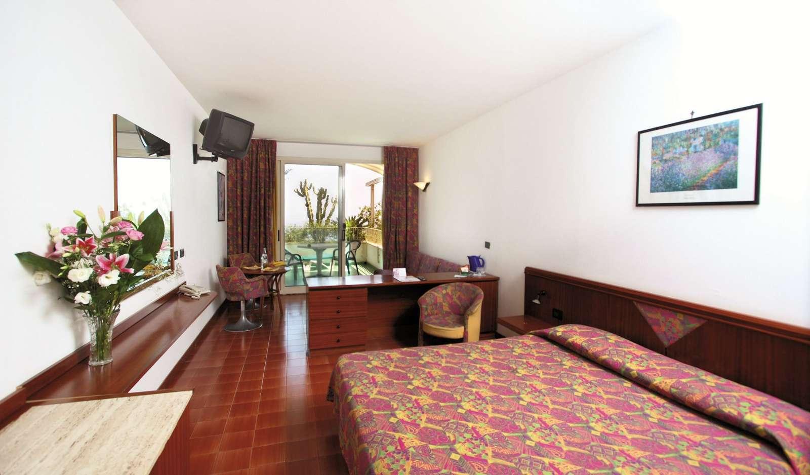 Exempel på rum på Hotel Le Terrazze