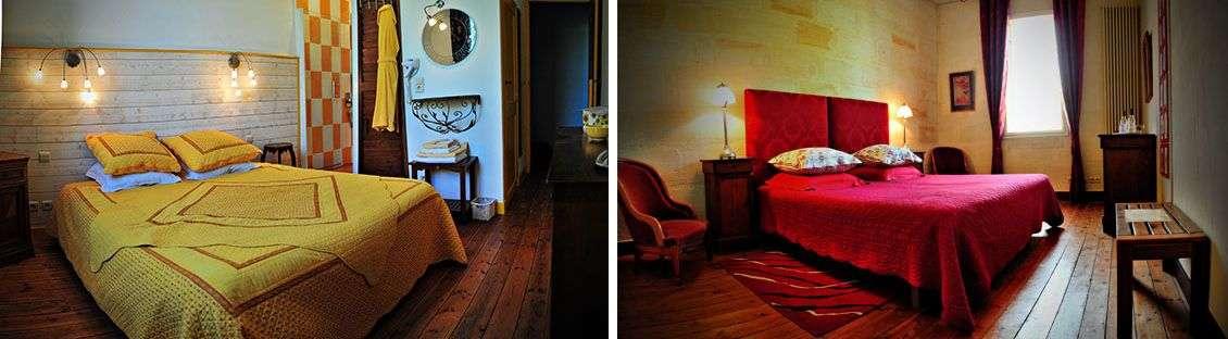 Chambre Jaune og Chambre Rouge