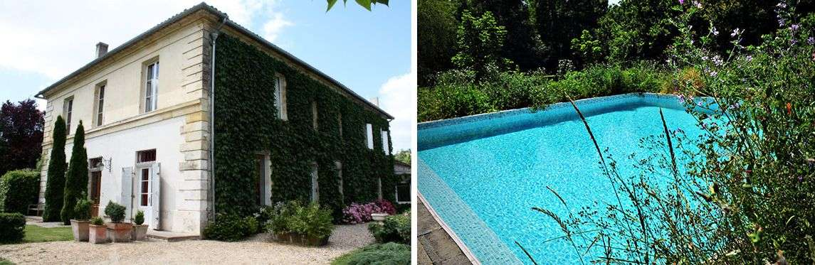 Le Petit Garros og pool