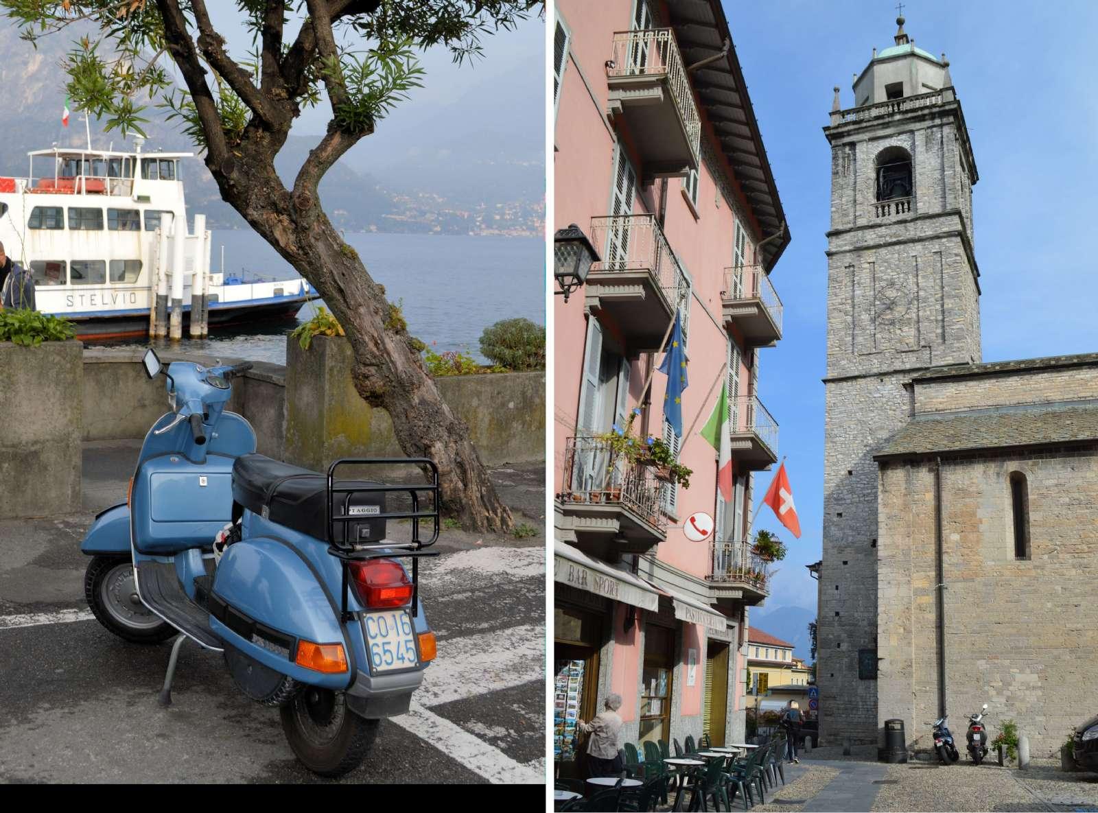 Stadsliv i Bellagio