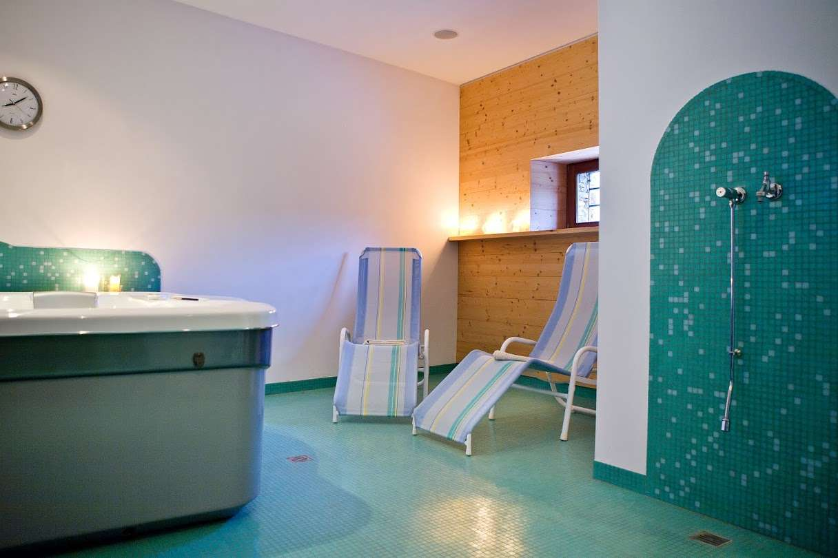 Kleines Wellness-Center