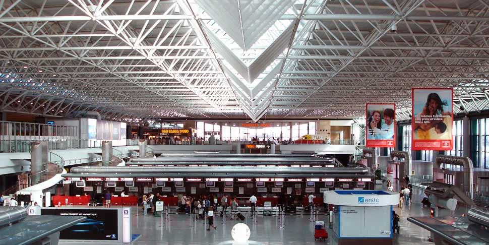 Rom Fiumicino Lufthavn terminal
