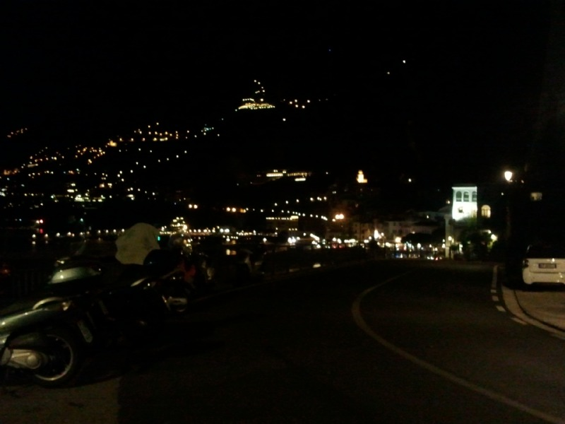 Amalfi by by night