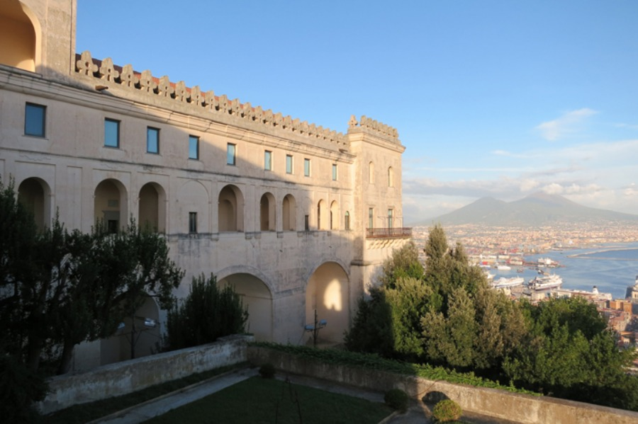 View over the city from the Certosa cloister