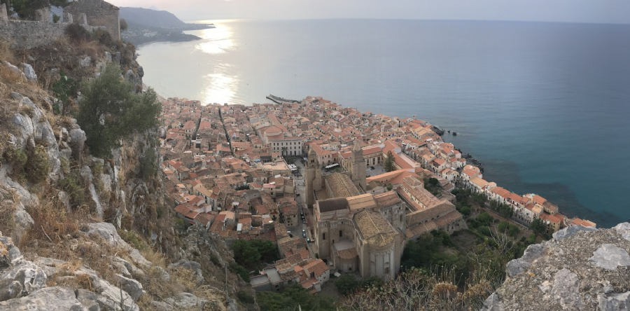 View towards Cefalu